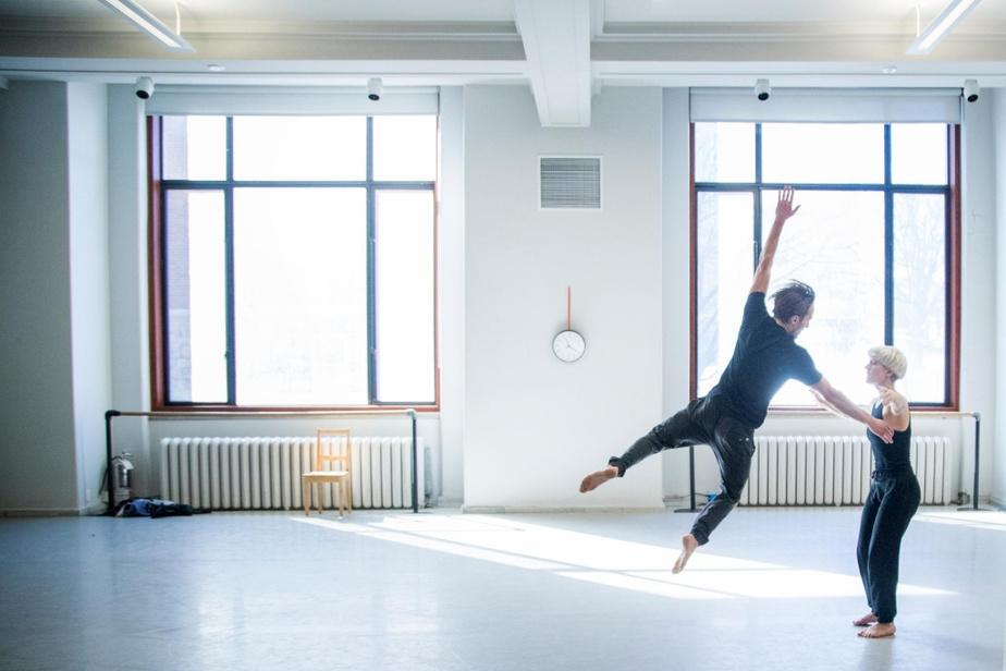 Les danseurs Milan Panet-Gigon et Sophie Breton