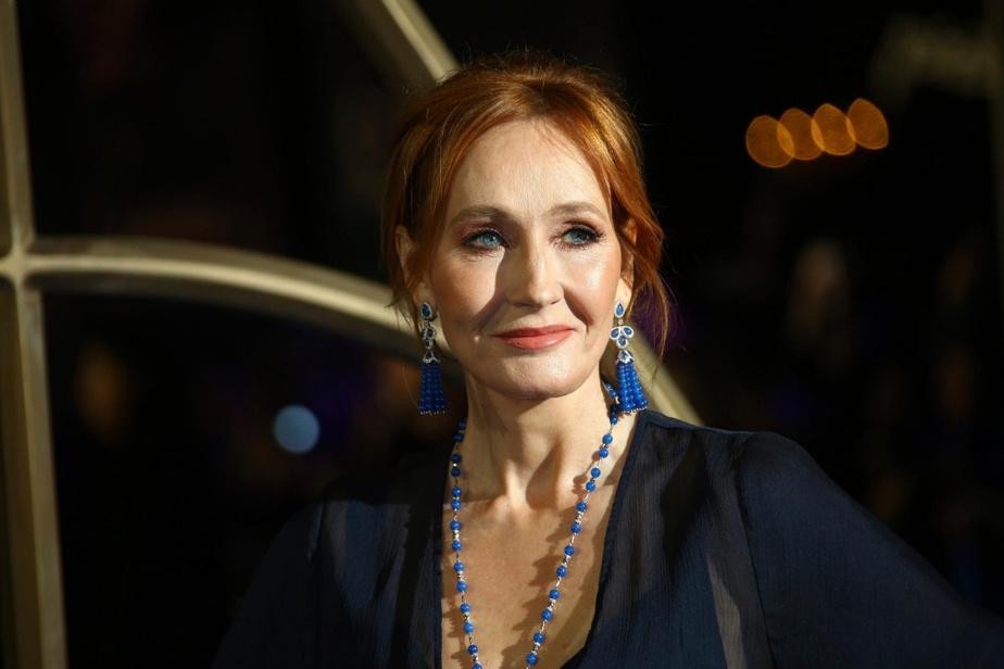 J.K. Rowling, la créatrice de la série HarryPotter