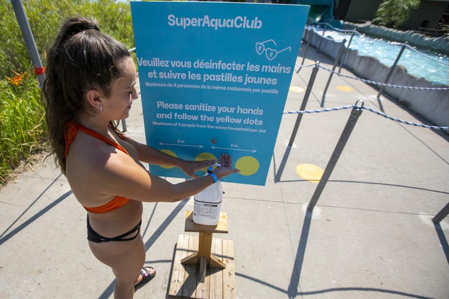 Le lavage des mains est fortement recommandé avant de monter dans chacune des attractions.
