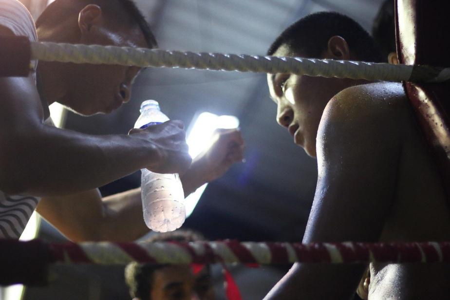 Les billets peuvent paraître cher pour la Thaïlande, mais certains permettent d'observer de très près les combats. On peut même entendre les entraîneurs s'adresser à leur poulain entre les rounds.