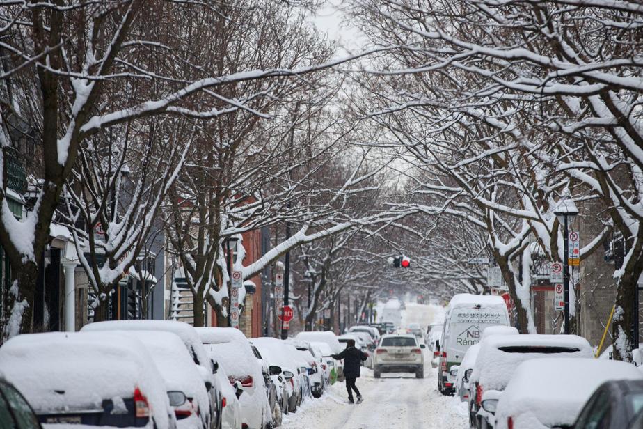 «C'est bien moins pire que l'an dernier», a-t-elle observé quand on lui a demandé si elle était satisfaite du déneigement dans son arrondissement cet hiver. «Faut dire que les tempêtes ne se succèdent pas au même rythme cette année.»