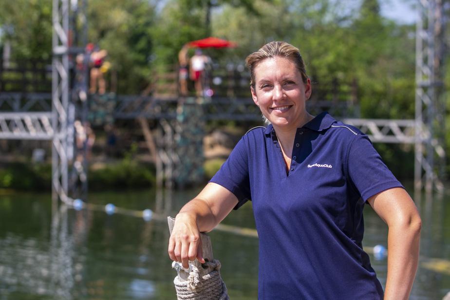 Nadine St-Amant, copropriétaire et présidente duSuper Aqua Club