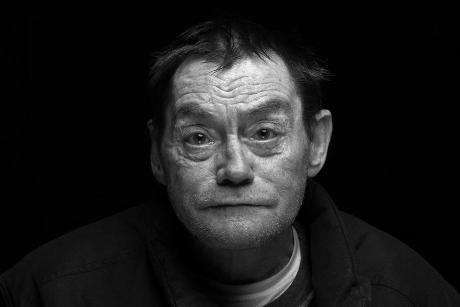 Claude Jubinville s'est récemment retrouvé dans la rue pour la première fois à l'âge de 57ans. Il y a passé trois mois avant d'être hébergé à la Maison du Père.