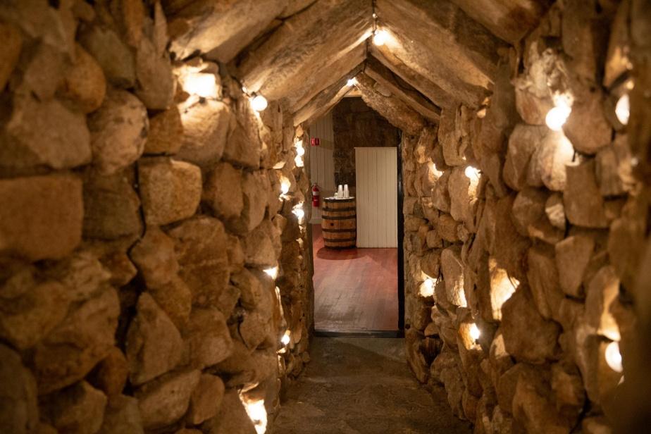 The Cave On accède au bar de l'hôtel MountWashington par un corridor en pierre, comme si l'on entrait dans une caverne. En fait, l'endroit abritait un court de squash à l'ouverture de l'hôtel, en1902, mais il a été converti quelques années plus tard en bar illégal au moment de la prohibition aux États-Unis. Sa vocation n'a pas changé depuis, TheCave a même fait brasser sa propre bière chez Tuckeman Brewing Co., à Conway.