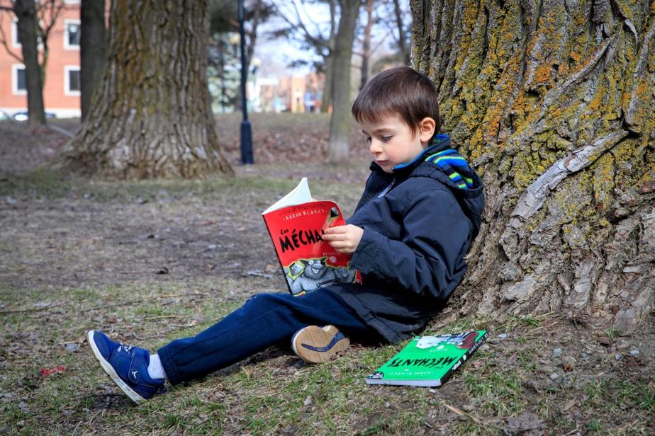 Sacha Brunelle, 6ans La série Les Méchants, d'Aaron Blabley, éditions Scholastic