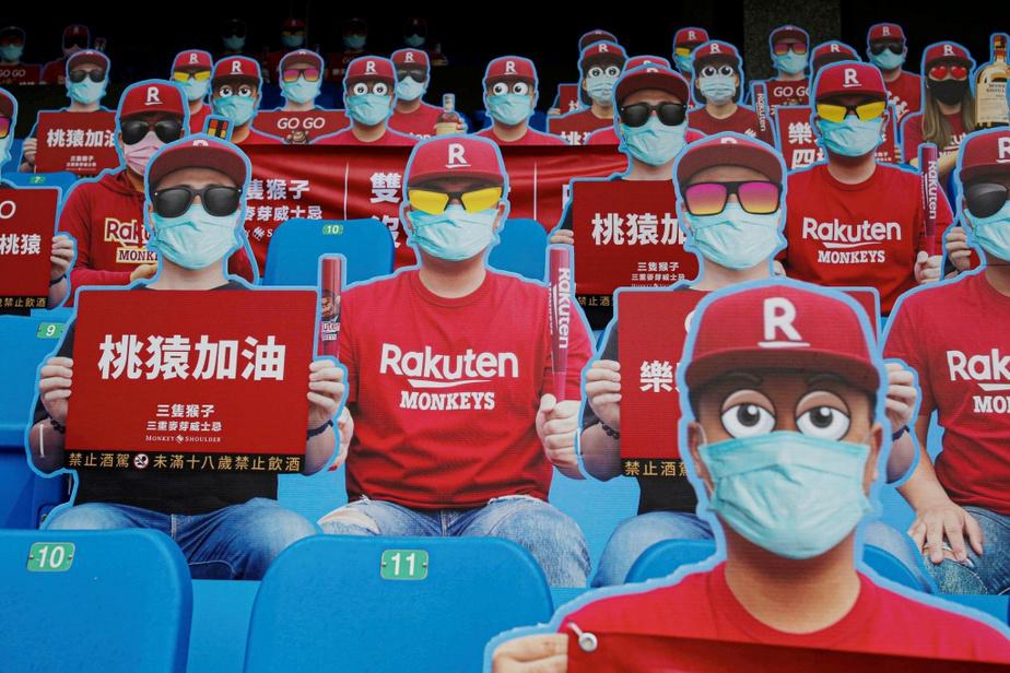Le baseball est de retour à Taïwan… dans des conditions assez particulières!
