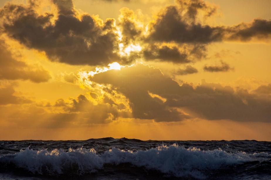 Couchers et levers de soleil sur l'Atlantique
