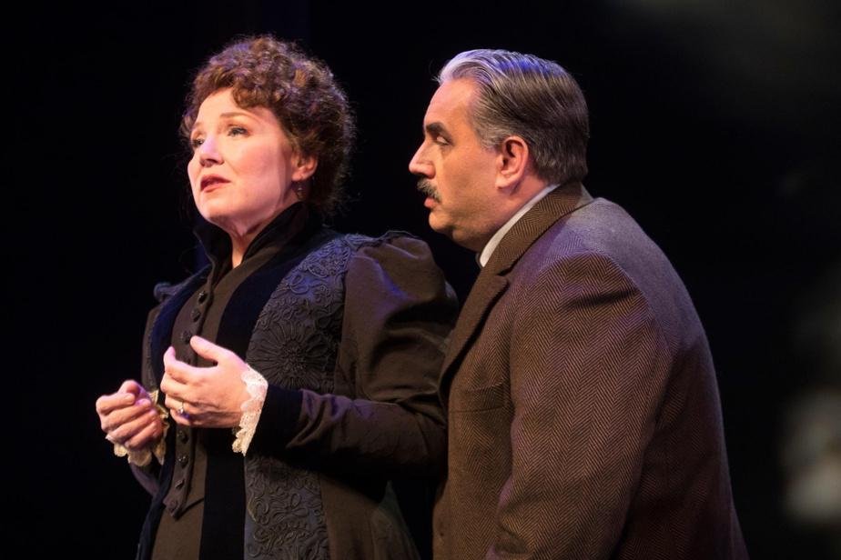 KathleenFortin et MarcHervieux font partie de la distribution, qui mêle chanteurs lyriques et comédiens-chanteurs.