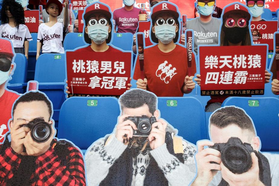 Même des «photographes» assistent à la partie…