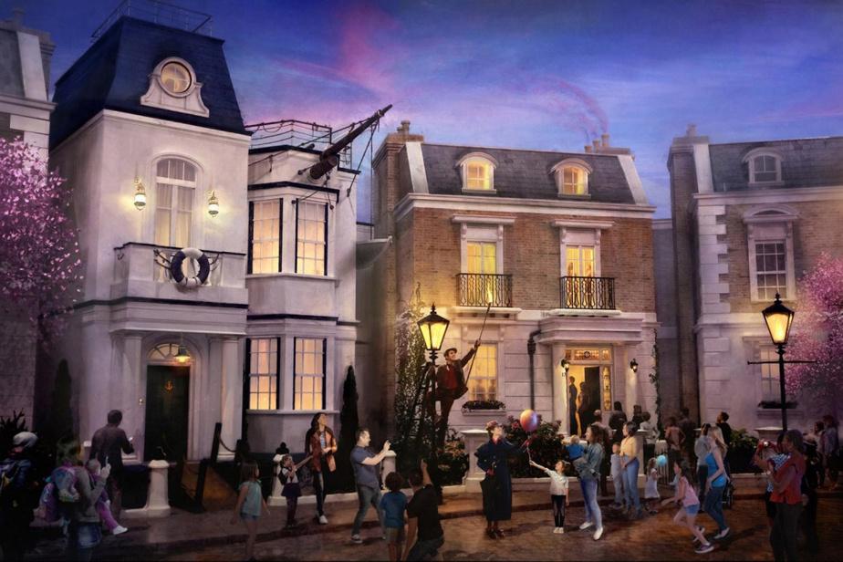 Le pavillon de la Grande-Bretagne sera agrandi pour accueillir un nouveau secteur et une toute première attraction inspirés de MaryPoppins.
