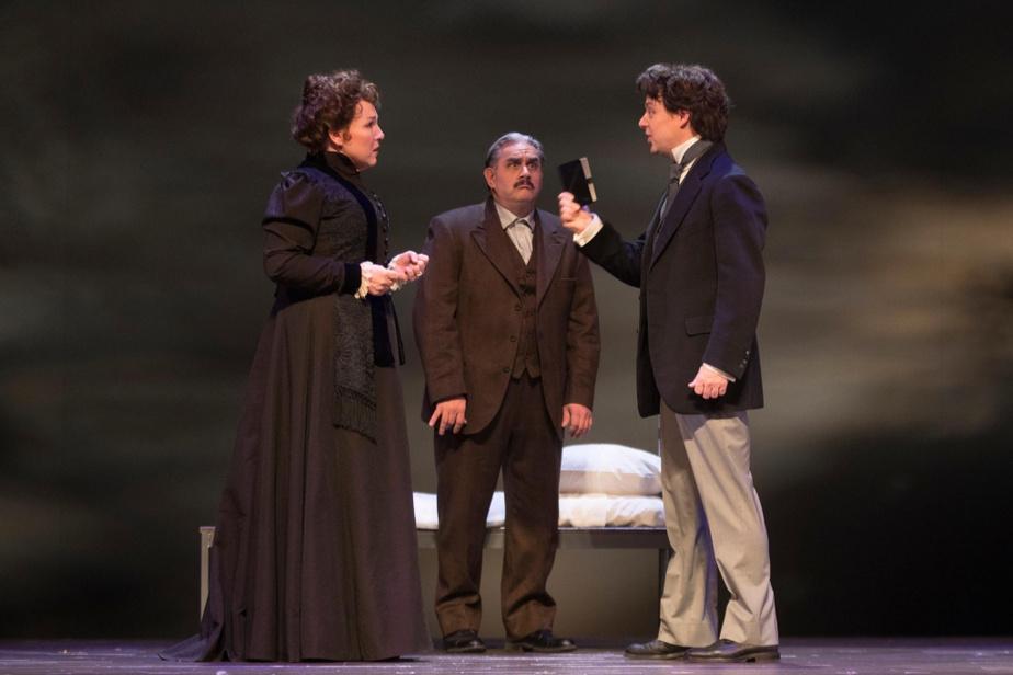 L'opéra Nelligan est présenté au TNM 30ans après sa création, à la Place des Arts.