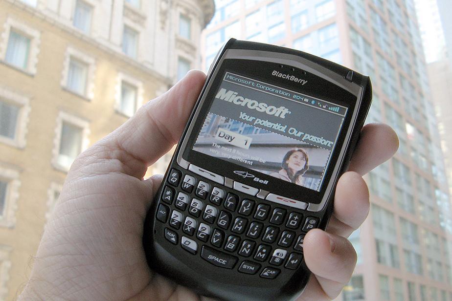 En août 2007, les actions de RIM atteignent un nouveau sommet dans la foulée de rumeurs voulant que Microsoft songe à acquérir l'entreprise canadienne, considérée à l'époque comme un fleuron technologique.