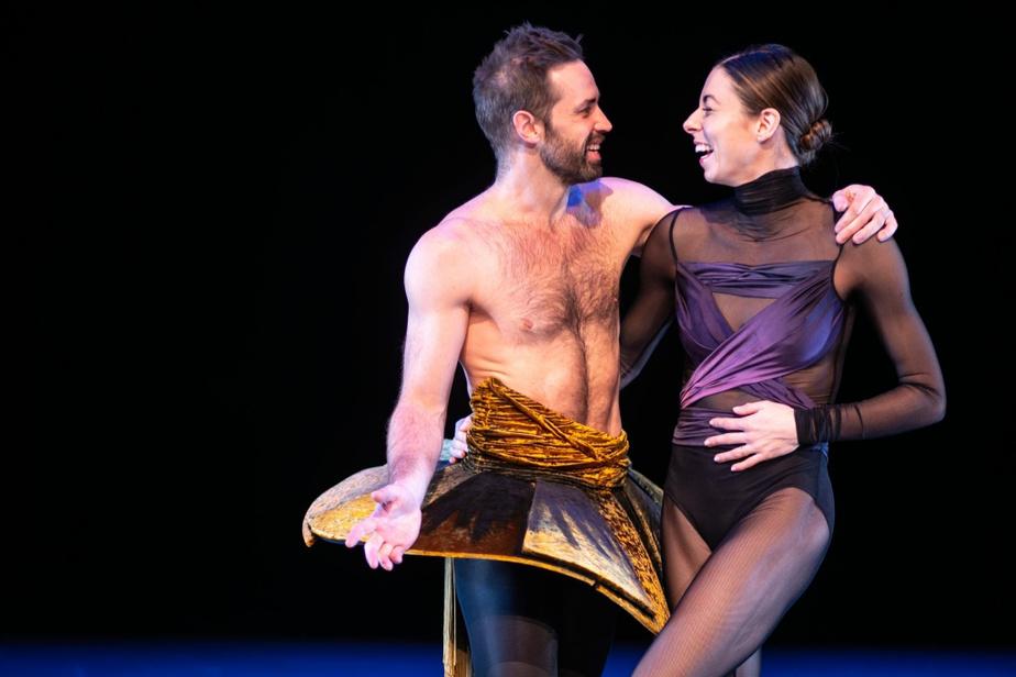 Les deux danseurs partagent une grande complicité, eux qui se connaissent depuis près de 20ans.