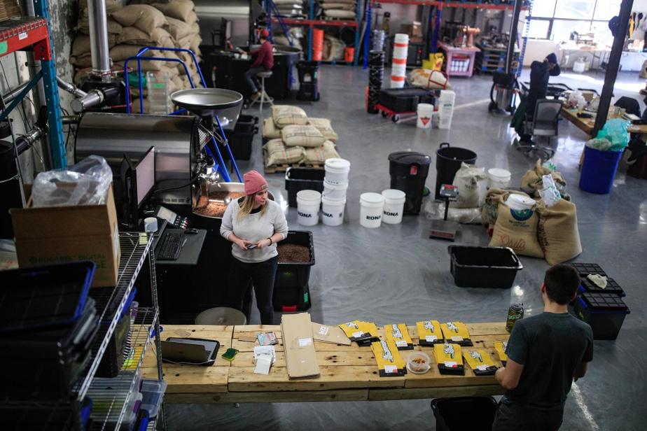 Vue de la Coffee Roasting Society