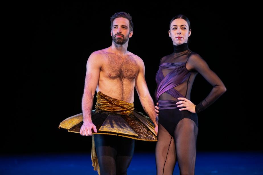 Après avoir dansé ensemble durant 10ans pour les Ballets de Monte-Carlo, Raphaël Bouchard et Maude Sabourin se sont retrouvés au sein des Grands Ballets, où ils sont tous deux solistes.
