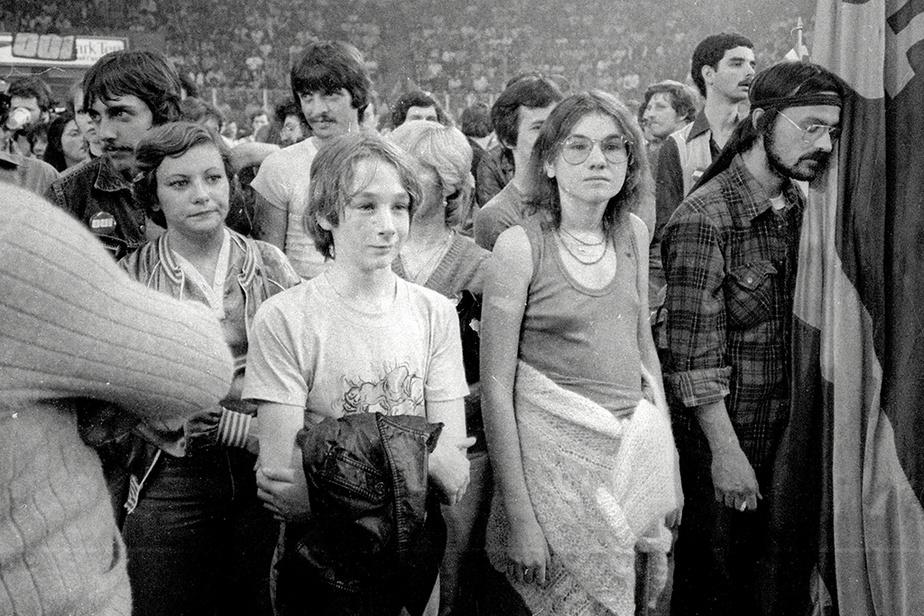 Des partisans du Oui, atterrés par le résultat du référendum