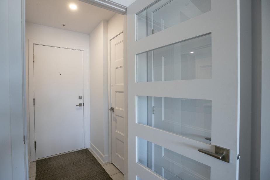 Au San Leon, un immeuble locatif du Groupe Immobilier Scalia et Fils, au Faubourg Boisbriand, les appartements avec un vestibule sont les plus populaires, constate ElianSanchez, associé à l'AgenceSix. Leur superficie est proportionnelle à celle de l'appartement.