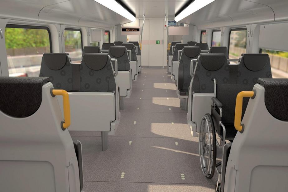Les voitures loges seront équipées d'un cabinet de toilette entièrement accessible et leurs sièges à strapontin permettront d'accueillir sans difficulté les personnes à mobilité réduite.