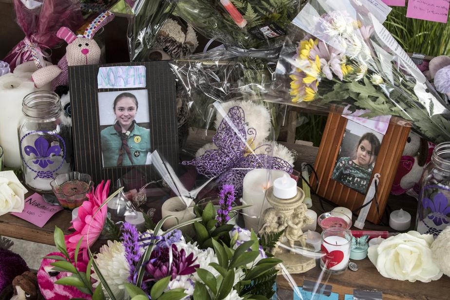 Le mémorial en l'honneur des victimes a été instauré par le 128eGroupe Scout de Charny.