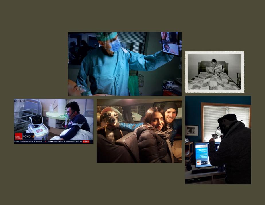 Un montage de MichelCampeau fait ce mois-ci avec des photographies et deux captations télévisuelles. Design graphique: BrunoRicca et MichelCampeau. Gestion numérique: MaudeTouchette.