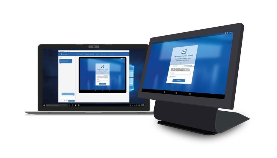 TeamViewer est très utilisé par les administrateurs de réseau en entreprise.