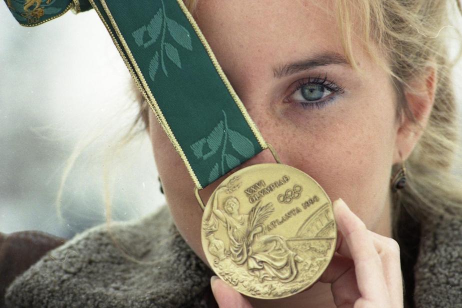 AnniePelletier est revenue des Jeux olympiques d'Atlanta, en 1996, avec une médaille de bronze en plongeon.