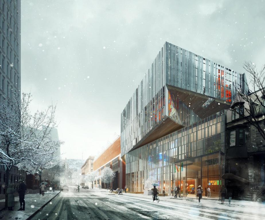 FNX-INNOV a participé au projet du pavillon5 du Musée des beaux-arts de Montréal.
