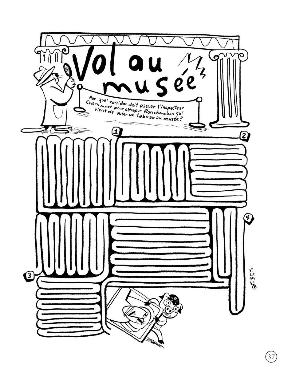 Extrait du livre Coloravirus, d'Anne Villeneuve