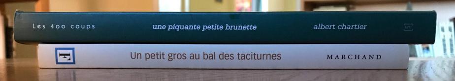 Même si les bals de fin d'études sont annulés, Benoît Melançon a réuni, en deux livres, trois mouvements, un petit gros et une petite brune. Toute une histoire à développer.