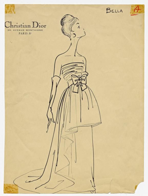 La robe Bella, de la collection Automne-hiver1959