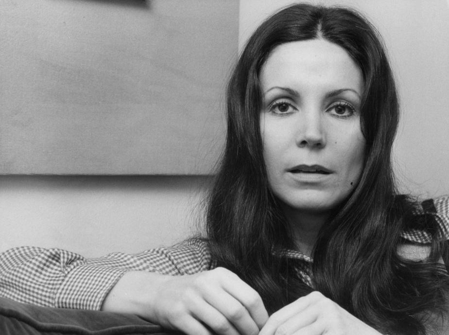 Renée Claude le 21 décembre 1972