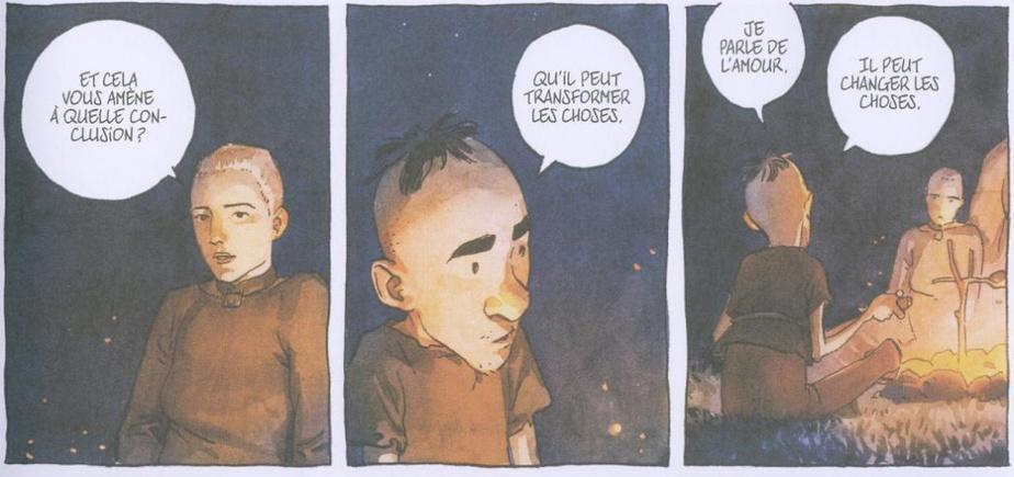 Extrait d'Aldobrando, de Gipi et Luigi Critone