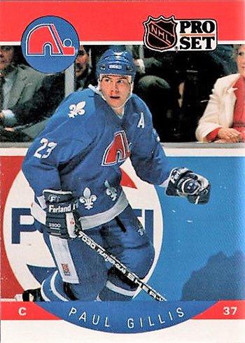 Paul Gillis porte le numéro37 ou 23 avec les Nordiques de Québec?