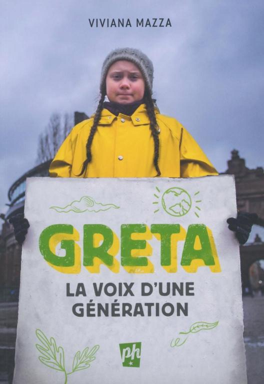 Greta – La voix d'une génération, texte de Viviana Mazza, illustrations d'Elisa Macellari, traduction d'Isabelle Enderlein, Les Éditions Petit Homme