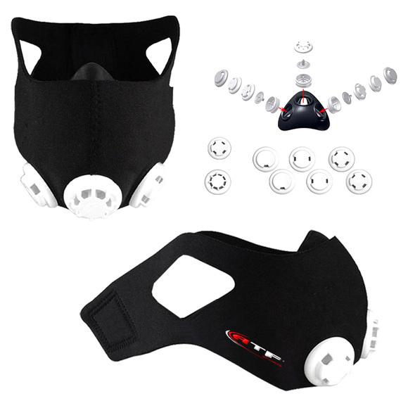 Sports Experts vend le masque pour entraînement de performanceA4416 d'ATF, qui n'est toutefois pas conçu pour minimiser la transmission du coronavirus.