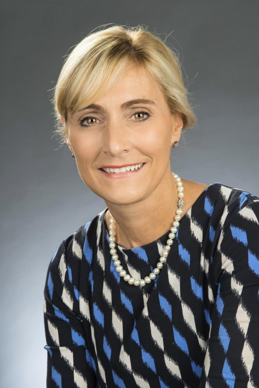 Julie Chaurette, présidente-directrice générale de la Fondation du CHUM, est finaliste pour le prix Leadership.