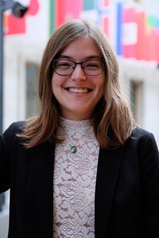 Alexandra Jeffrey, étudiante à l'Université Laval, est lauréate du prix Relève RBC 2020.