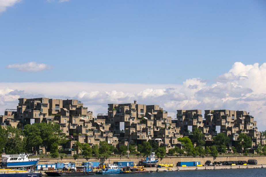 Un classique architectural de Montréal: Habitat67, un ensemble d'habitations pensé par l'architecte Moshe Safdie.