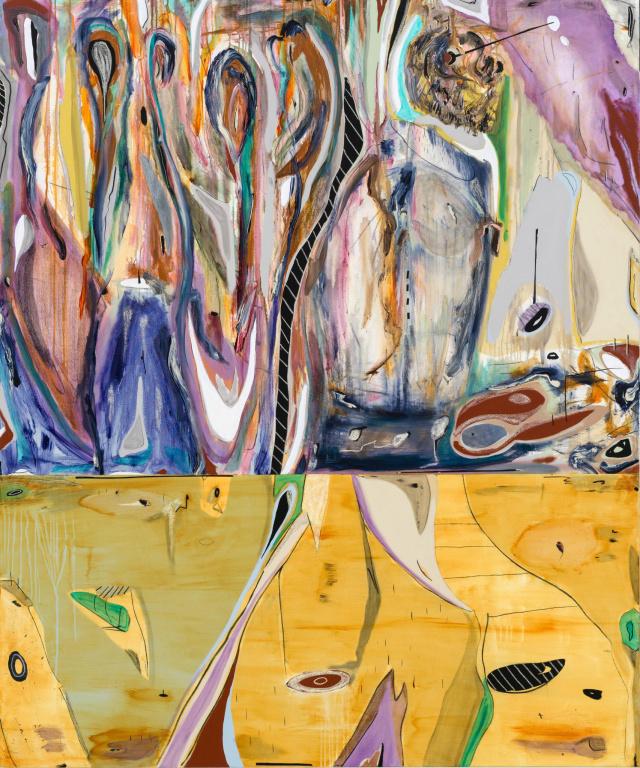 The Gardner/Mané, 2019, Manuel Mathieu (1986-), techniques mixtes. Récemment acquis par le MNBAQ.