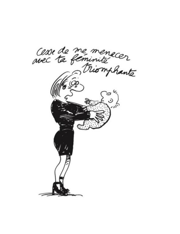 Dessin de Claire Bretécher