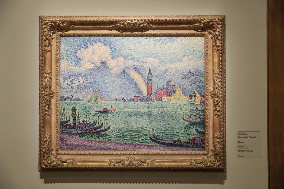 L'Arc-en-ciel (Venise), 1905, PaulSignac, huile sur toile