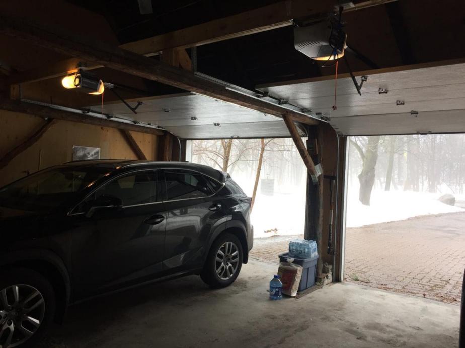 Entrée du garage