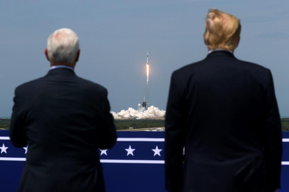 Le président américain Donald Trump et le vice-président Mike Pence