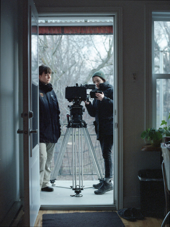 Image du tournage du clip de CRi