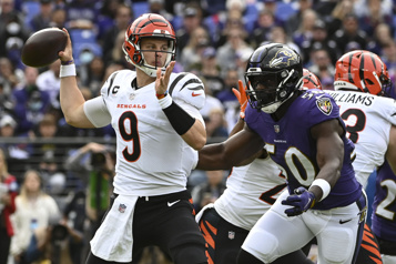 Les Bengals battent les Ravens41-17