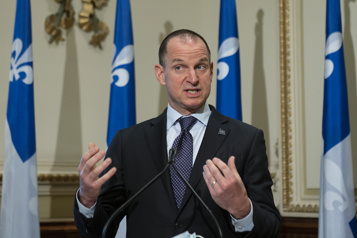 Québec déposera son minibudget le 25novembre