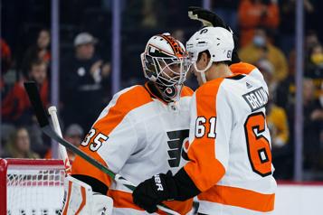 Gain des Flyers6-3 contre les Bruins