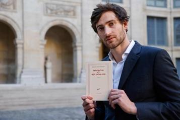Le Grand Prix du roman de l'Académie remis à François-Henri Désérable