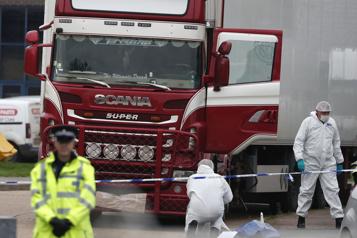 Camion charnier Angleterre Un procès pour 23 accusés en Belgique en décembre