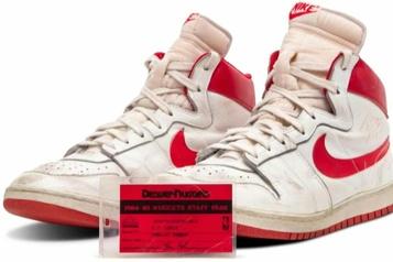 Enchères Des chaussures de Michael Jordan atteignent près de 1,5million de dollars